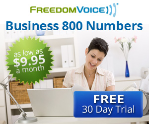 FreedomVOICE Banner Ad