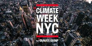 CLIMATE WEEK NYC 2021