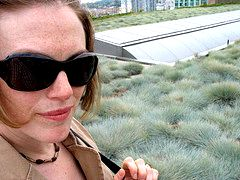 Christine Thuring on the Vancouver Public Library (Library Square Building) Greenroof