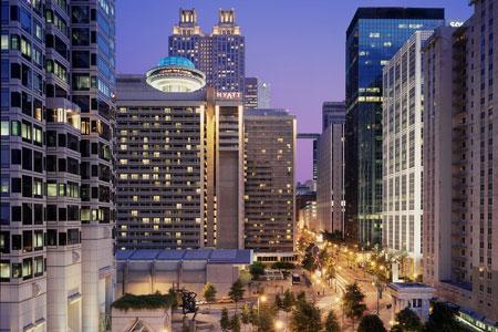 The Hyatt Regency - Atlanta