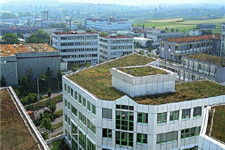 Stuttgart has over 3.2 million sf of greenroofs!