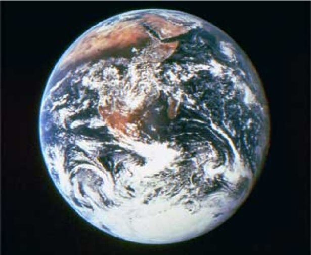 View of the Earth from NASA