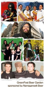 A lot of fun to be had at the Boston GreenFest 2009 with all the bands and more.