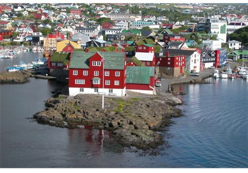 Tinganes in Torshavn, photo by Erik Christensen from Faroeislands.dk
