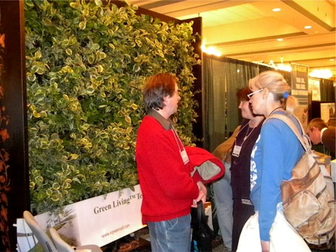 The Green Living Technologies booth