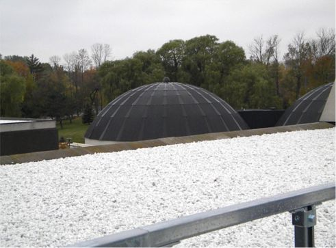 The Aggregate White Roof