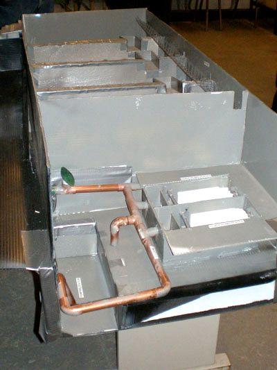Model of the Etobicoke Creek stormwater management facility