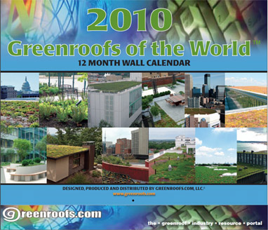 The 2010 Greenroofs of the World Front Cover