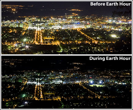 Earth Hour Canberra