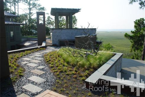 Great Project Of The Week. U2013 Our Project Of The Week Is The Private Kiawah Island Residential  Green Roof ...
