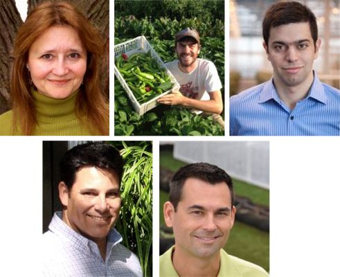 """Skyrise Ag: 5 Ways to Local Food Production""with Helen Cameron, Mohamed Hage, George Irwin, Ben Flanner and Alan Joaquin"