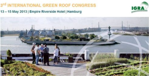 3rd International Green Roof Congress, in Hamburg, Germany