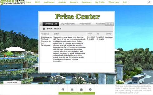 VS2013: Prize Center