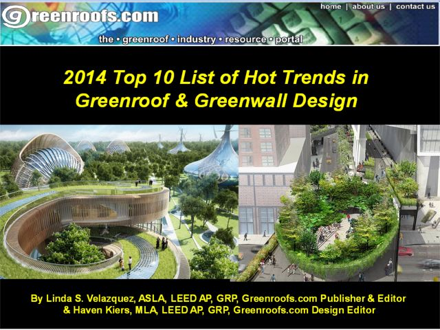 Greenroofscom2014Top10ListofHotTrendsinGreenroofandGreenwallDesign