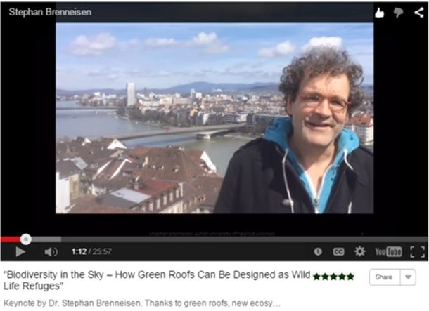 Virtual Summit 2015 Video Biodiversity in the Sky Stephan Brenneisen