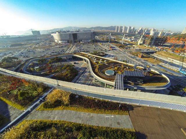 Project of the Week Sejong Public Administration Town Diana Balmori