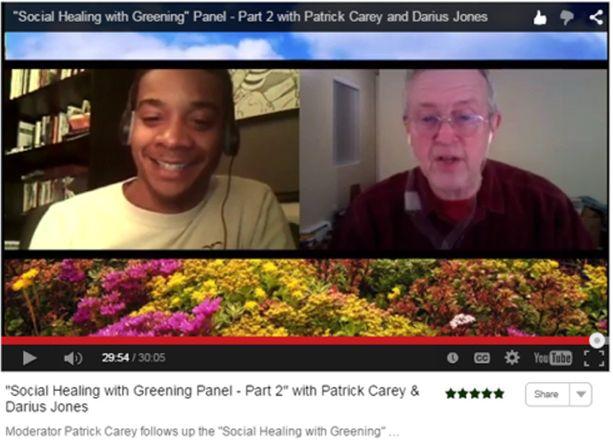 Virtual Summit 2015 Video Social Healing Greening Carey Darius Jones