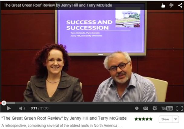 Virtual Summit 2015 Video Great Green Roof Review Hill McGlade