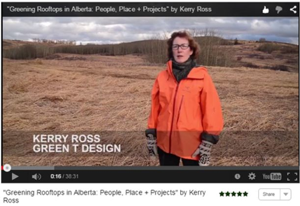Virtual Summit 2015 Video Greening Rooftops in Alberta Kerry Ross