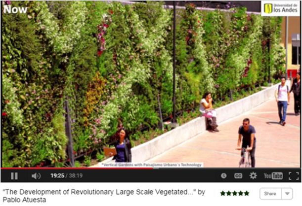 Virtual Summit 2015 Video Revolutionary Vegetated Projects in Latin America