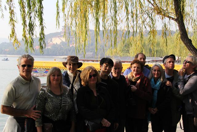 2012-BeijingBotanicalandSummerGarden-Group