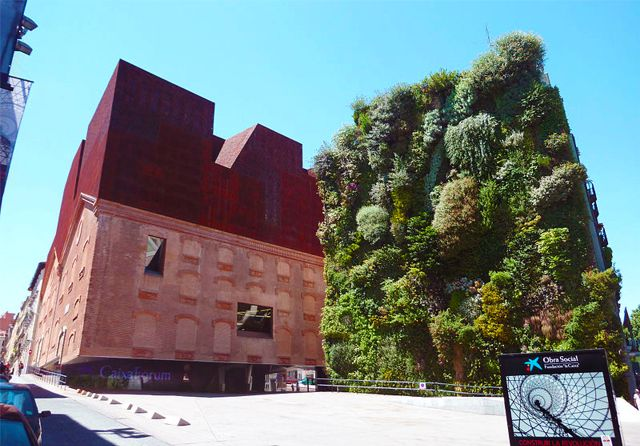 Project of the Week Caixa Forum Museum Vertical Garden