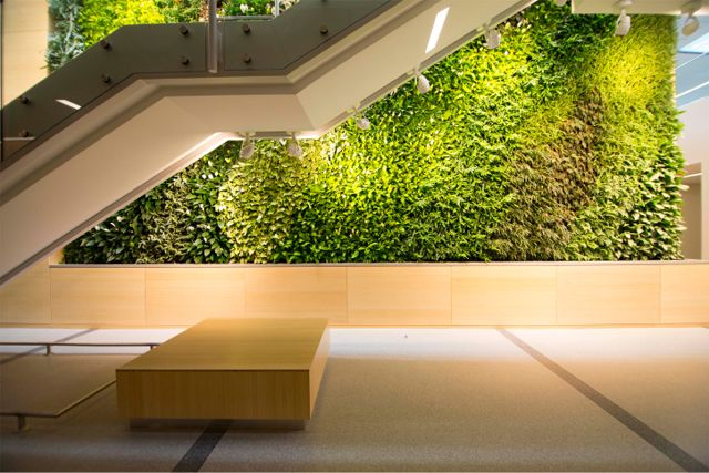 Project of the Week Rutgers University Institute for Food Nutrition and Health Living Wall