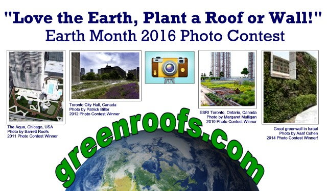 """Love the Earth, Plant a Roof or Wall!"" Photo Contest"