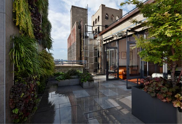 Project of the Week Private West Village NY Penthouse Terrace
