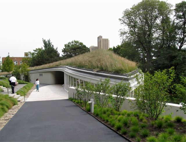 Project of the Week Brooklyn Botanic Garden Visitor Center