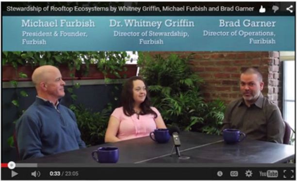 Virtual Summit 2015 Video Stewardship of Rooftop Ecosystems Furbish