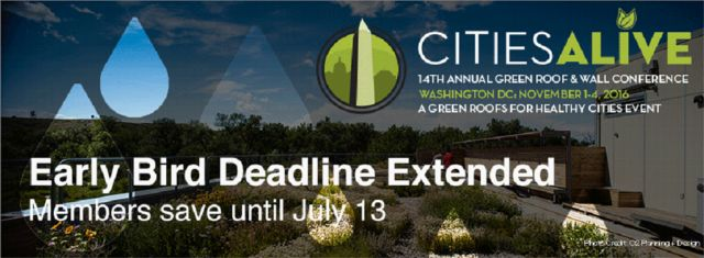 CitiesAlive 2016 Early Bird Ends July 13