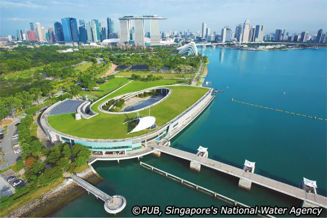 Project of the Week Marina Barrage Singapore