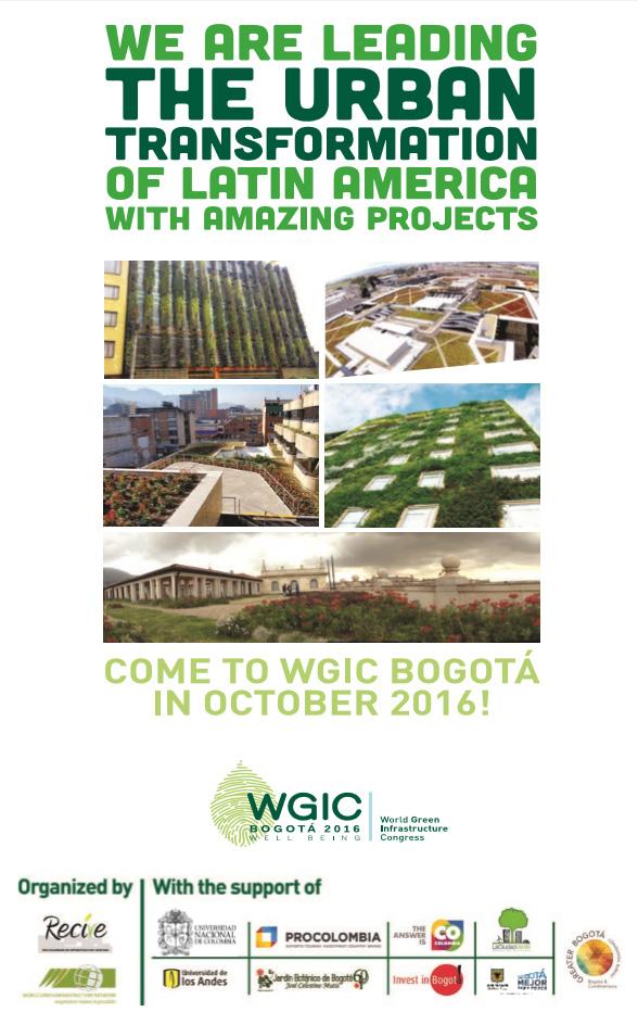 2016 WGIC Bogota THE-NEXT-GREEN Awards and Registration Deadline