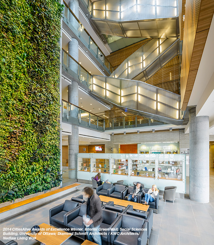 Inaugural Green Wall Industry Survey Report Green Roofs Healthy Cities
