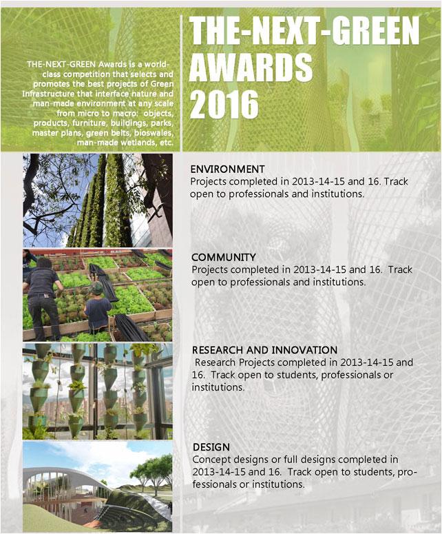 Winners THE-NEXT-GREEN Awards WGIC 2016 Bogota