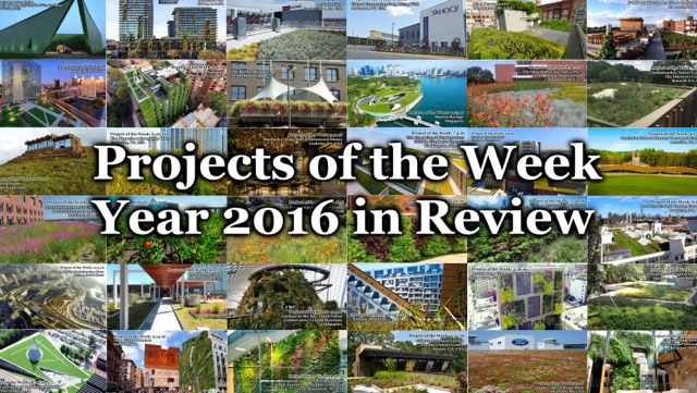 Greenroofs.com Projects of the Week 2016 in Review Video