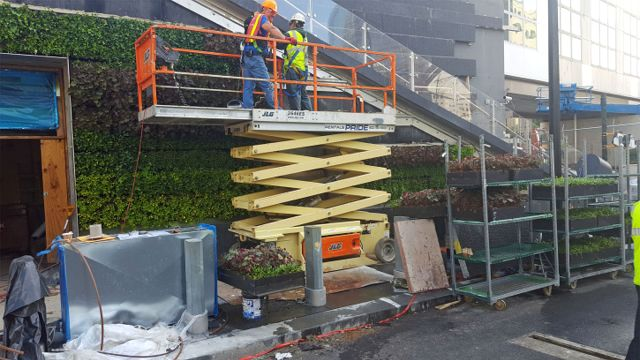 Project of the Week World Trade Center Liberty Park Greenwall