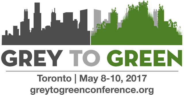 Register Now 2017 Grey to Green Conference: Quantifying Green Infrastructure