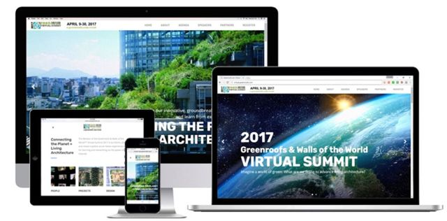 Greenroofs.com Press New 2017 Greenroofs Walls World Virtual Summit Website