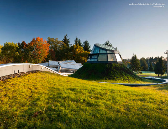 Greenroofs.com Project Week May 2017 VanDusen Botanical Garden Visitor Centre