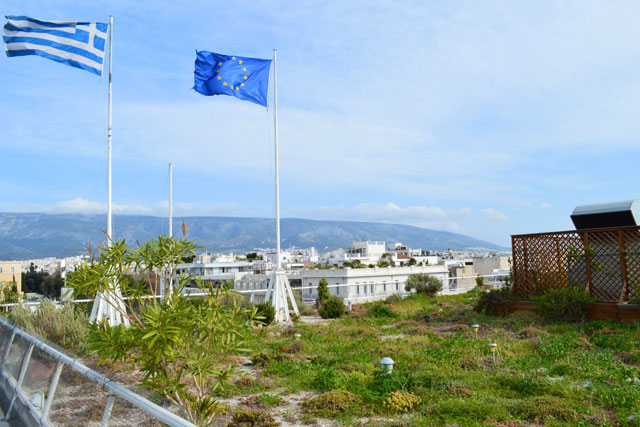 Greenroofs.com Project Week July 2017 Hellenic Treasury Constitution Square Greece