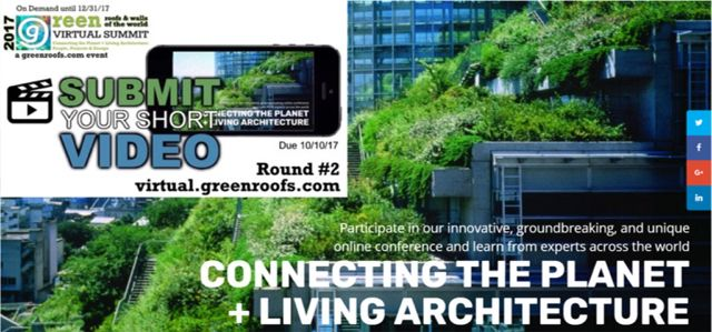 Extended Greenroofs.com Virtual Summit 2017 Round #2 Call Short Videos
