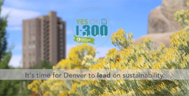Denver Green Roof Initiative Town Hall Rally October 14 15