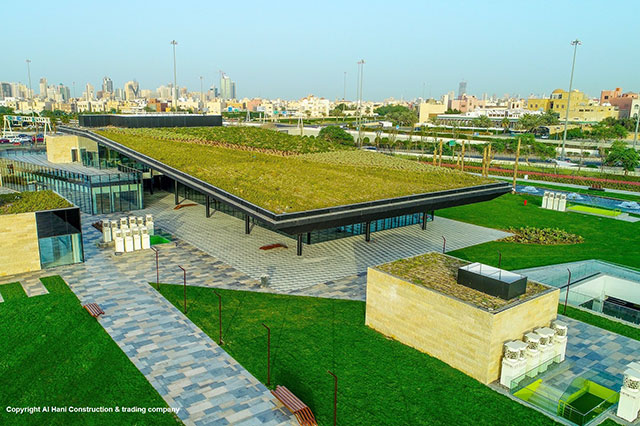 Urban Oasis Experience 5th International Green Roof Congress 2018 Kuwait