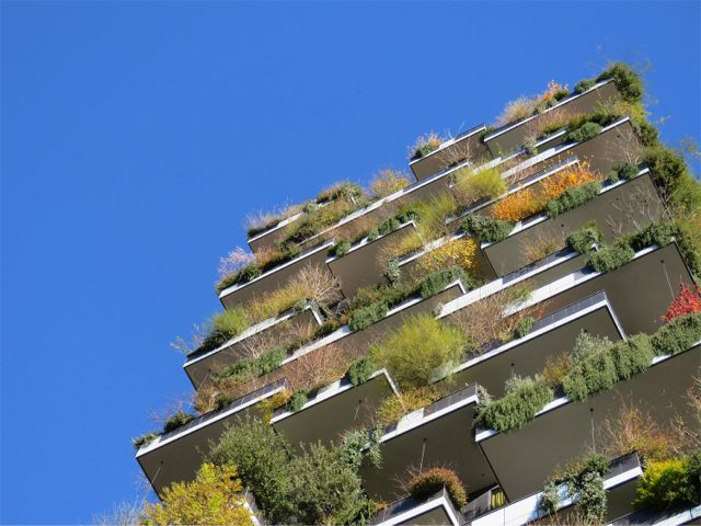 Greenroofs.com Project Week January 2018 Bosco Verticale Vertical Garden Milan