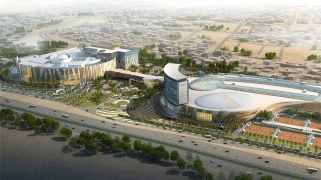 Greenroofs.com Project Week 360 Mall in Kuwait and Extension