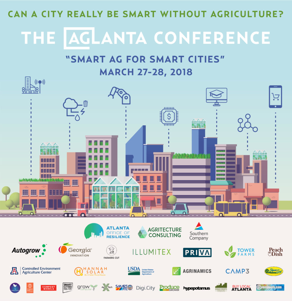 Smart Ag for Smart Cities AgLanta Conference 2018