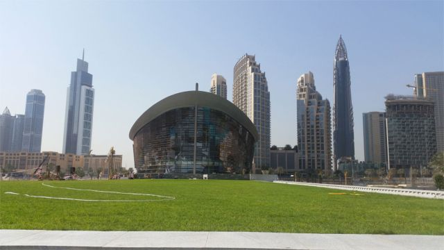 Greenroofs.com Project Week Dubai Opera Garden Green Roof Greenwalls