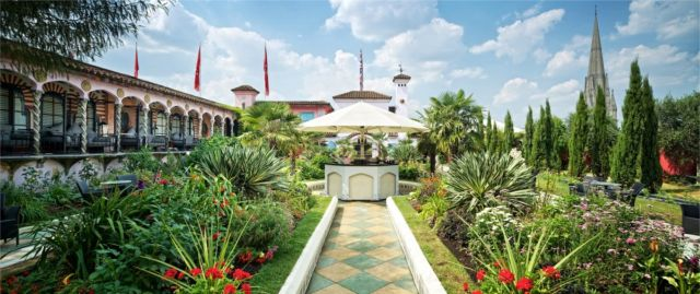 Kensington Roof Gardens Closed